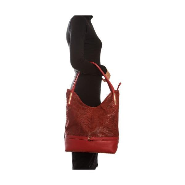 Kožená kabelka Sofia Cardoni Adona, rosso