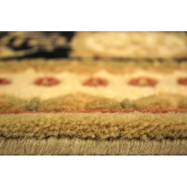 Vlnený koberec Vanilla, 70x140 cm