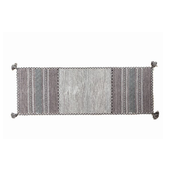 Ručne tkaný koberec Kilim Tribal 408, 180x60 cm