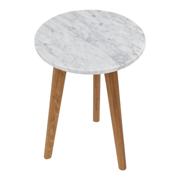 Odkladací stolík Zuiver White Stone, 32cm