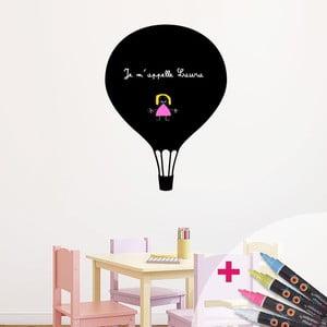 Tabuľová samolepka so 4 tekutými kriedami Fanastick Balloon