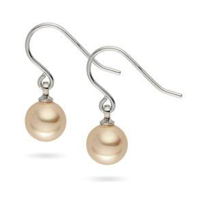 Perlové náušnice Nova Pearls Copenhagen Lauren Champaigne