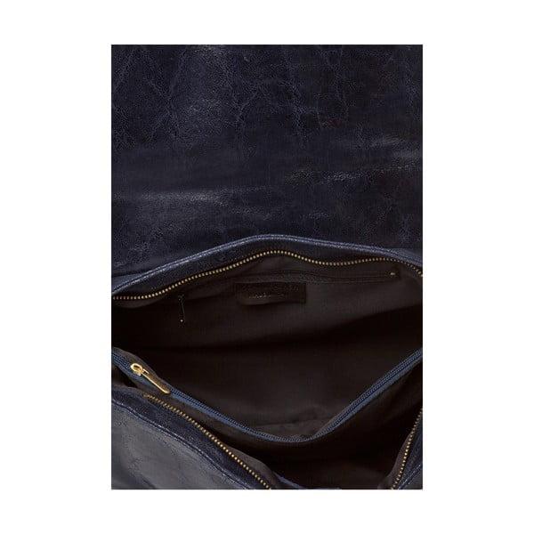 Kožená kabelka Bela, sivá