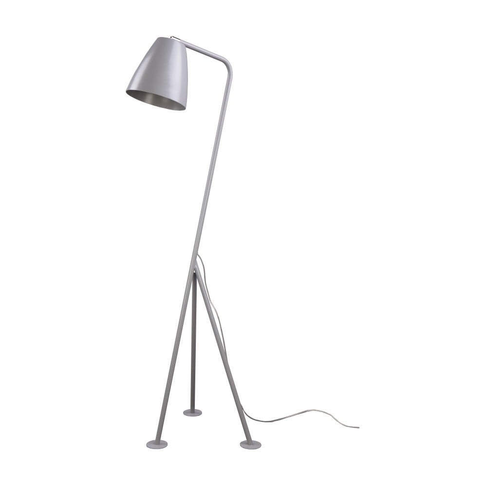 Sivá stojacia lampa Nørdifra Omega
