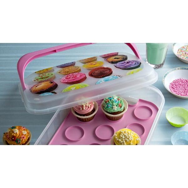 Box na cupcakes Sweet Box, modrý