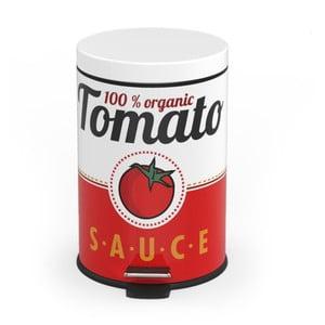 Pedálový odpadkový kôš Tomato Sauce, 5 l