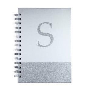 Zápisník Tri-Coastal Design Monogram S