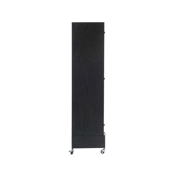 Skriňa na kolieskach Gauze, výška 175 cm
