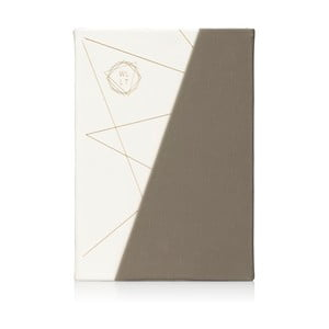 Sivo-biely zápisník NPW WLLT