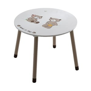 Detský biely stôl 13Casa Teddy
