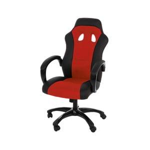 Červená kancelárska stolička Actona Race