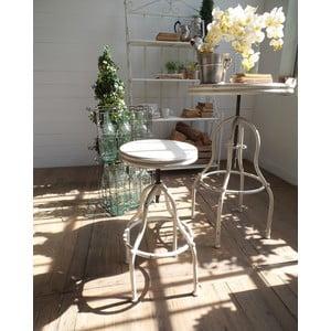 Barová stolička Vintage White