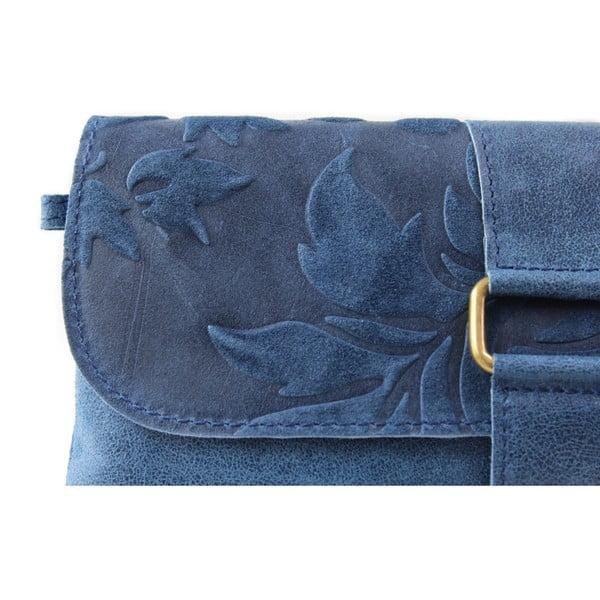 Modrá listová kabelka Candy