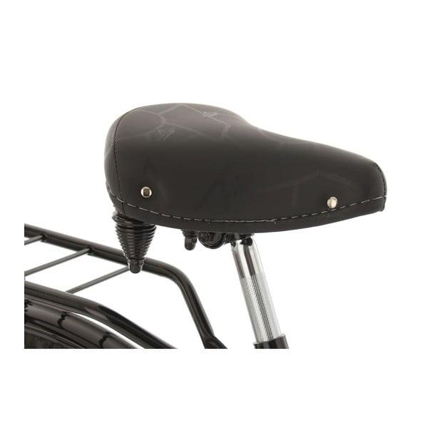 "Bicykel Tussaud Black 28"", výška rámu 54 cm, 3 prevody"