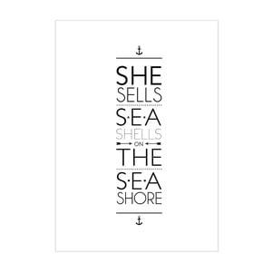 Plagát She Sells Sea Shell