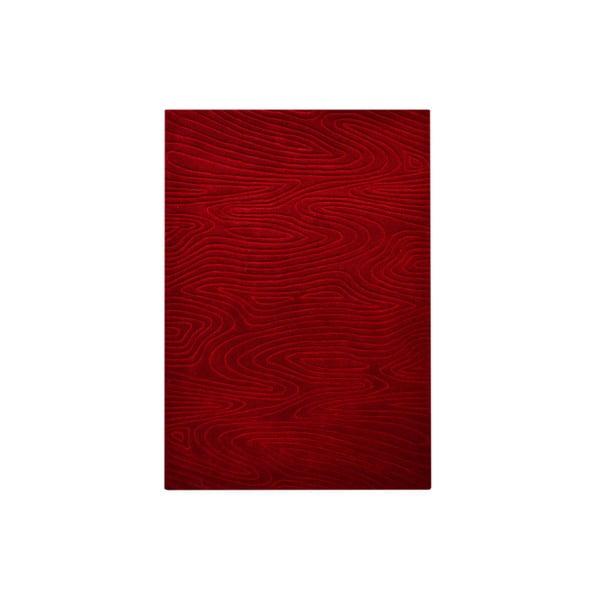 Ručne tkaný koberec Zen, 120x180 cm, červený