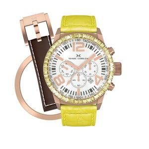 Dámske  hodinky Marc Coblen s remienkom a krúžkom na ciferník naviac P57