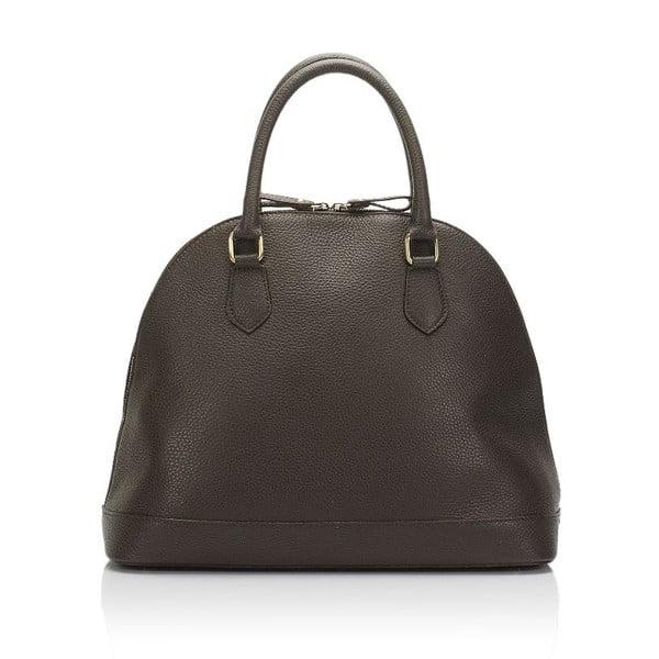 Kožená kabelka Markese 5010 Dark Brown