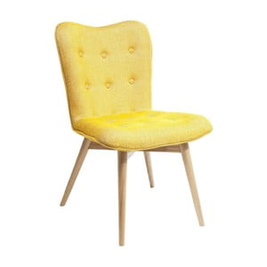 Žltá jedálenská stolička Kare Design Angel Wings