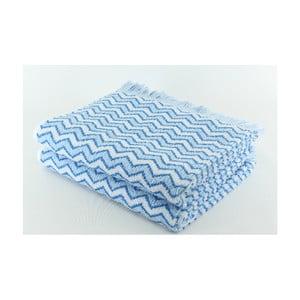Sada 2 osušiek Lora Alaska Blue, 70x140 cm