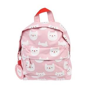 Malý detský batoh s mačičkami Rex London
