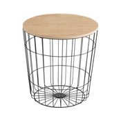 Odkladací stolík Actona Lotus Darko, Ø39 cm