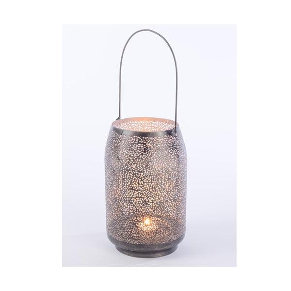Kovový lampáš Agnes, 23 cm