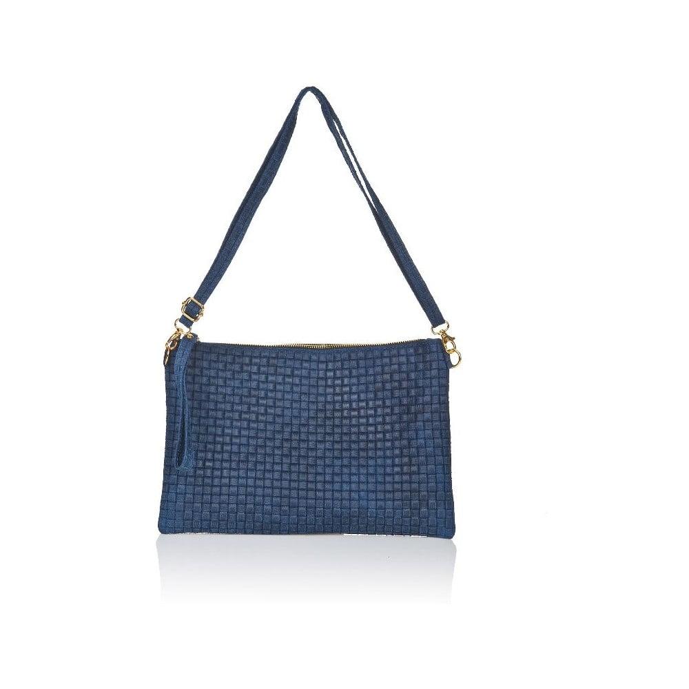 Modrá kožená kabelka Markes Tryphena
