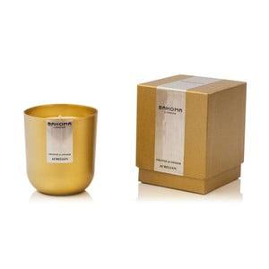 Sviečka s vôňou pomaranča a zázvoru Bahoma Luxurious, 75 hodín horenia