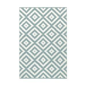 Svetlomodro-sivý obojstranný koberec vhodný aj do exteriéru Green Decore Ava Malo, 120 × 180 cm