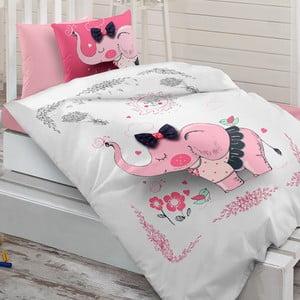 Sada posteľnej bielizne zo 100% ranforce bavlny Charlot Contes