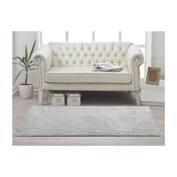 Koberec Welsoft Grey, 80x140 cm