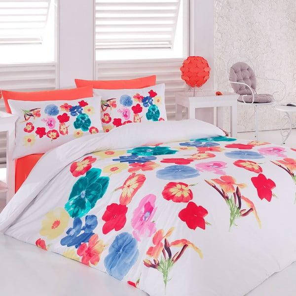 Obliečky s plachtou Color Flower, 200x220 cm