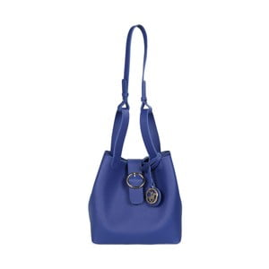 Modrá kabelka z eko kože Beverly Hills Polo Club Gina