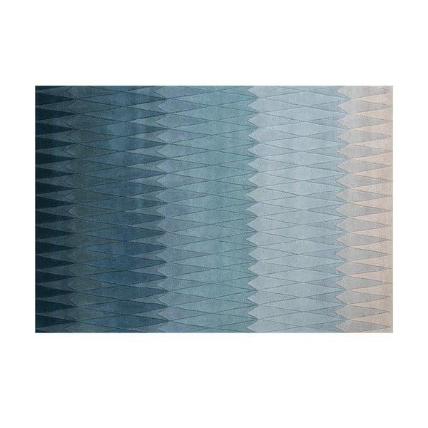 Vlnený koberec Linie Design Acacia Blue, 170x240cm