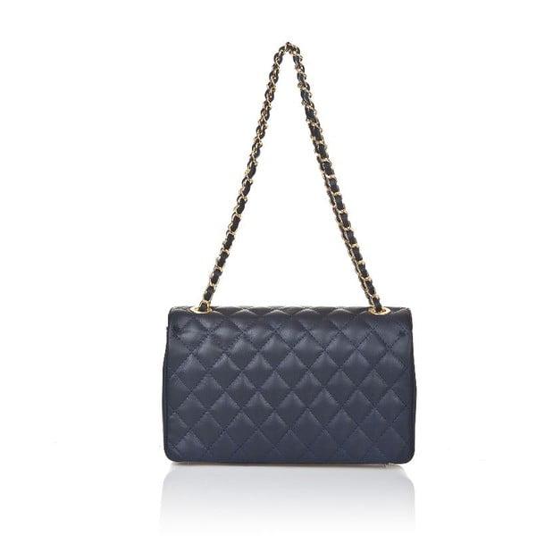 Kožená kabelka Markese 6999 Blue