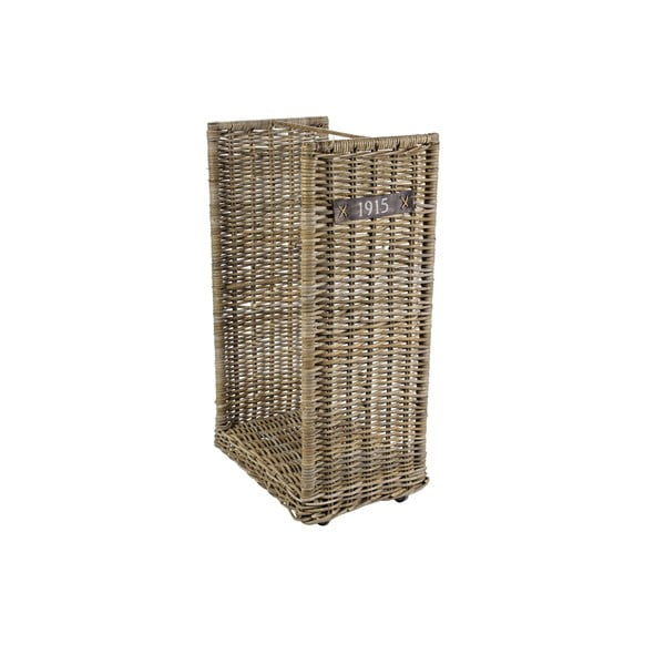Košík na drevo/časopisy Ascot, 50x90 cm
