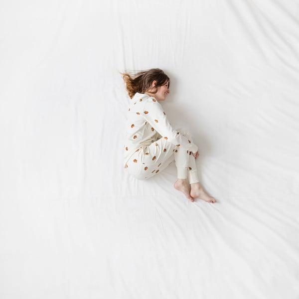 Dámske biele nohavice Snurk Winternuts, L