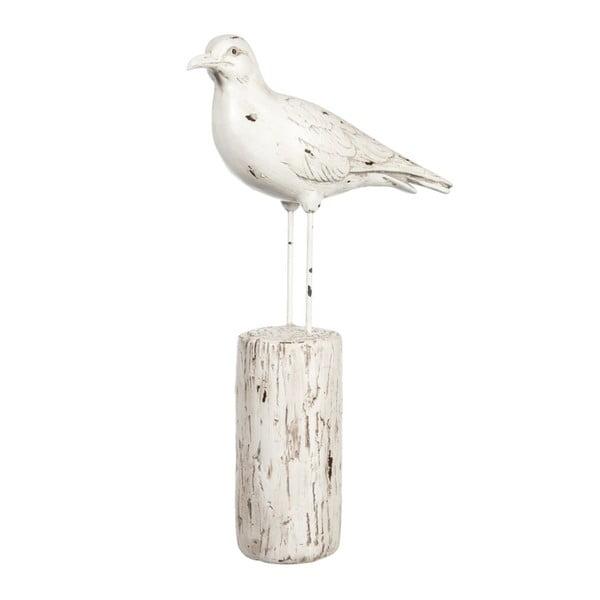 Dekorácia Bird on Trunk, 21x8x35 cm