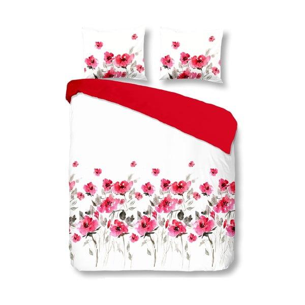 Obliečky Flowerdream Red, 200x200 cm