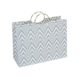 Sivá darčeková taška Tri-Coastal Design Stockholm