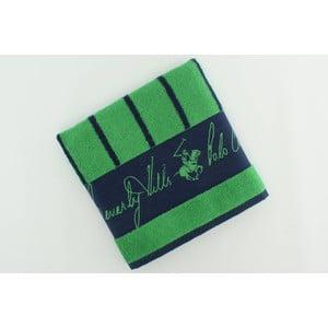 Bavlnený uterák BHPC 50x100 cm, zelené pruhy