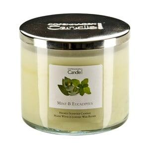 Aroma sviečka  Mint & Eucalyptus, doba horenia 50 hodín