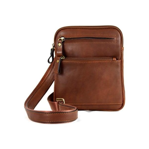 Kožená taška Santo Croce 108668 Brown