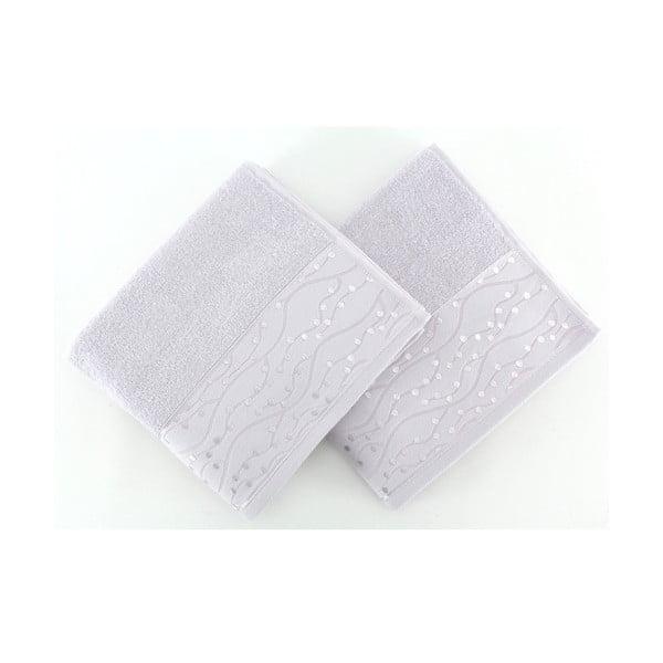 Sada 2 uterákov Tomuruk Lilac, 50x90 cm