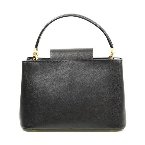 Kožená kabelka Sophia, čierna