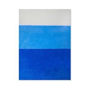 Detský koberec Mavis Blue Stripes, 100x150 cm