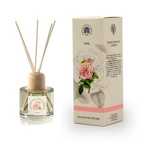 Aróma difuzér s vôňou ruže Bahoma London Fragranced, 100 ml