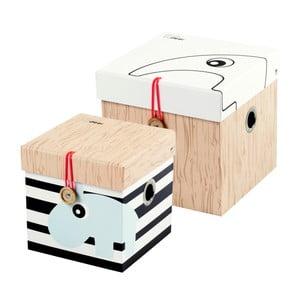 Sada 2 malých boxov Done by Deer Square