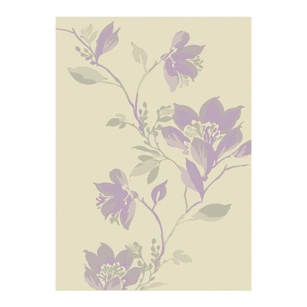 Koberec Asiatic Carpets Focus Mauve Floral, 80x150 cm